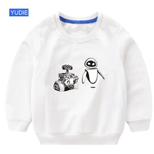 kids sweatshirt wall e toddler baby boy hoodie 2019 autumn children boys sweatshirts white sweatshirt for boy hoodie children sweatshirt f e v by francesca e versace sweatshirt