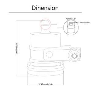 Image 5 - ユニバーサルオートバイ cnc bkbat ブレーキクラッチシリンダータンクオイル流体カップオイルカップ鈴木隼 gsx 250R