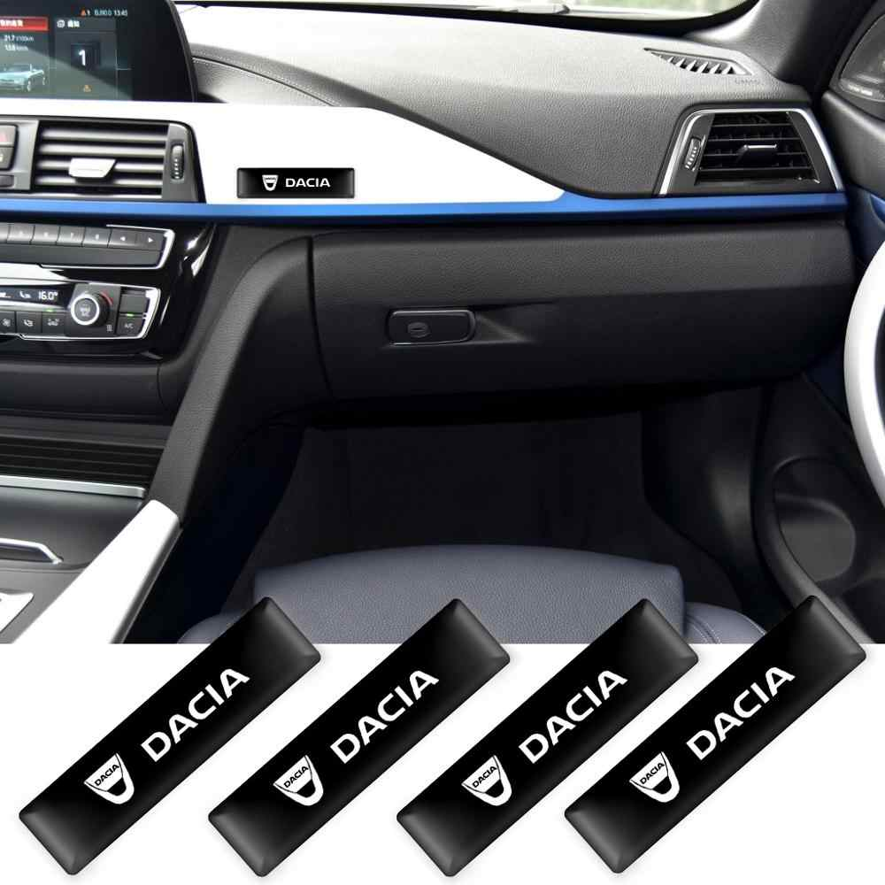 2/4/10Pcs Car styling 3D Decorazioni adesivi decalcomanie distintivo dell'emblema per Dacia Lodgy 2 Mcv Sandero duster Logan Sandero Accessori