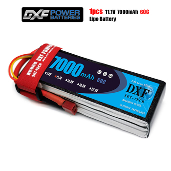 DXF Li-Poly Battery Lipo  11.1V 7000mah 60C Max120C for RC Helicopter Drone Car Boat Airplane Quadcopter dxf 3s lipo battery 11 1 v 2200mah 70c max 140c rc bateria for rc helicopter car drone akku uav model airplane quadcopter