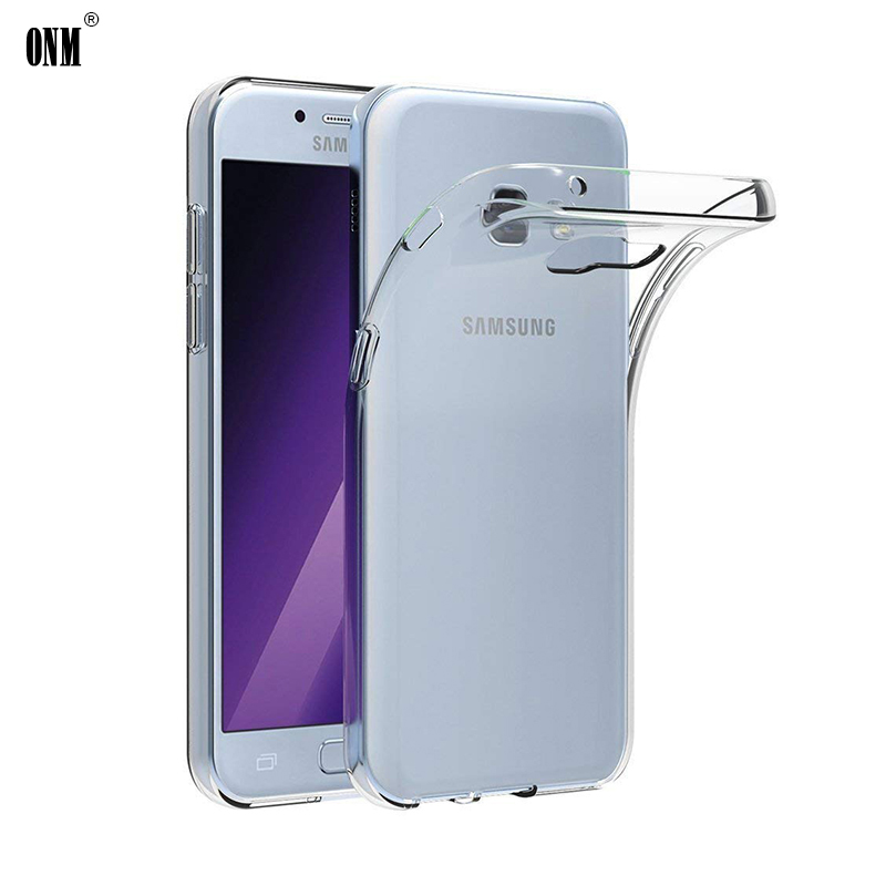 Case For Samsung Galaxy A3 A5 A7 2017 TPU Silicon Clear Fitted Bumper Soft Case For Samsung A5 2017 A320F A520F Back Cover