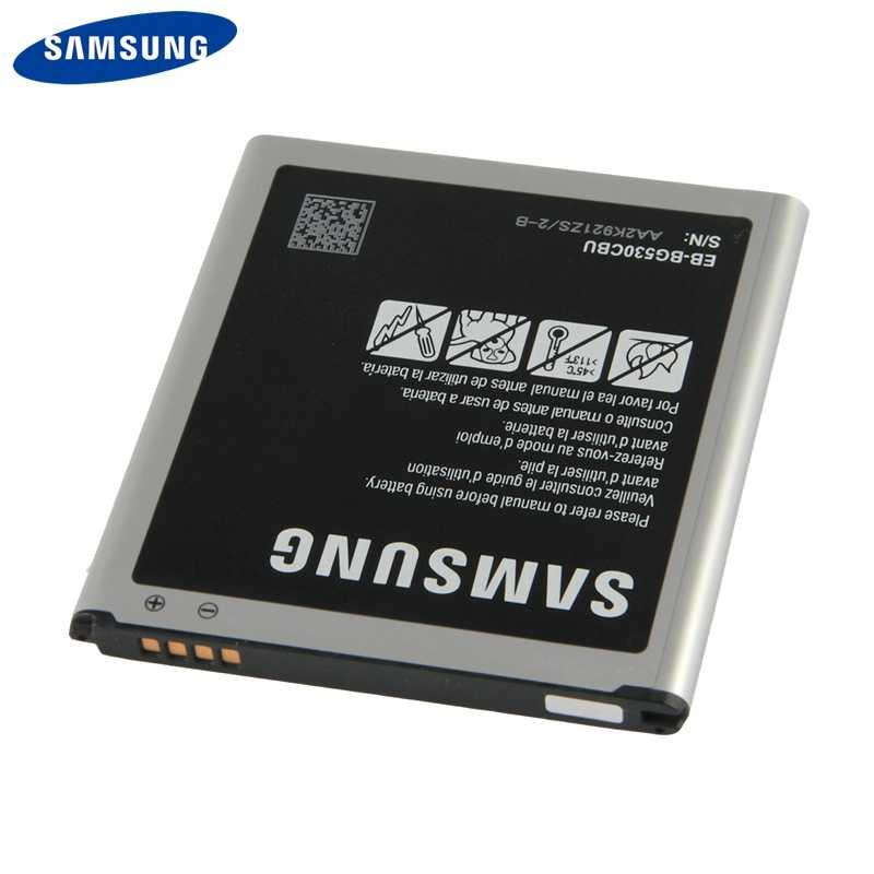 Samsung EB-BG530CBE Batterie Pour Samsung Galaxy Grand Prime J3 2016 J320F SM-J320FN G5308W G530 G530H G531 J5 EB-BG530BBC 2600mAh
