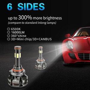 Image 2 - New Arrival H7 Led Canbus No Error H4 Car LED Headlight Bulbs H11 LED H8 HB3 9005 HB4 9006 Lamp 6500K 16000LM Auto Led Fog Light
