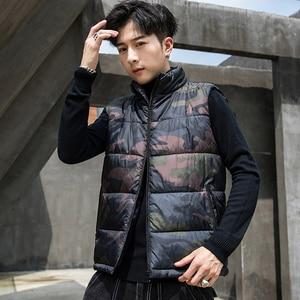 Image 2 - camouflage Vest Men Waistcoat Mens Winter Sleeveless Jacket Man Atumn Windbreak Casual Vests Slim Fit Brand Clothing XS 6XL 9997
