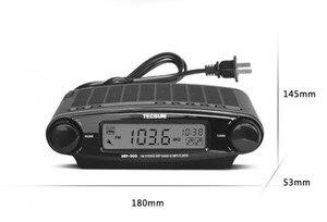 Image 4 - Tecsun Radio MP 300 Dsp Fm Stereo Usb MP3 Player Desktop Klok Ats Alarm Black Fm Draagbare Radio Ontvanger Y4137A Tecsun MP300