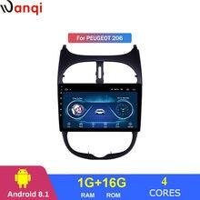 Wanqi android 81 Автомобильная Мультимедийная система gps навигации