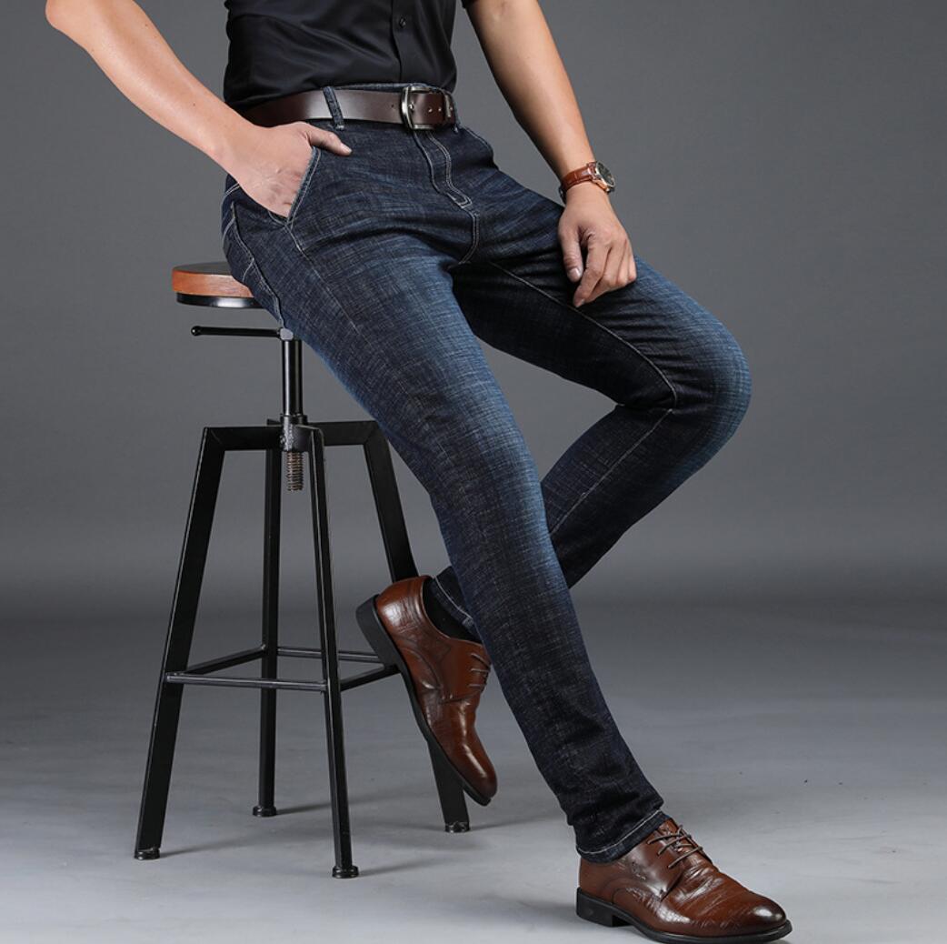 2020 NEW Straight Men's Pants Maa1 Stretch Casual Men's Waist Long Pants Men's Jeans XKJ113-41