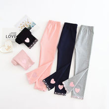 Girls Leggings Flowers Under-Clothing Spring Kids Pants Bottoms Vidmid Autumn Children