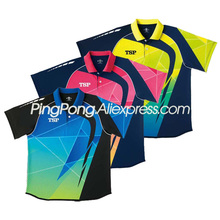 TSP Table Tennis Shirt / T-shirts for Men / Women 83105 Badminton TSP Ping Pong Clothes Jersey for Table Tennis Games