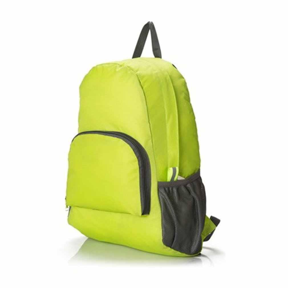 Hiking Bag Rucksack Lightweight Foldable Waterproof Nylon Women Men Skin Pack Backpack Travel Outdoor Sports Camping