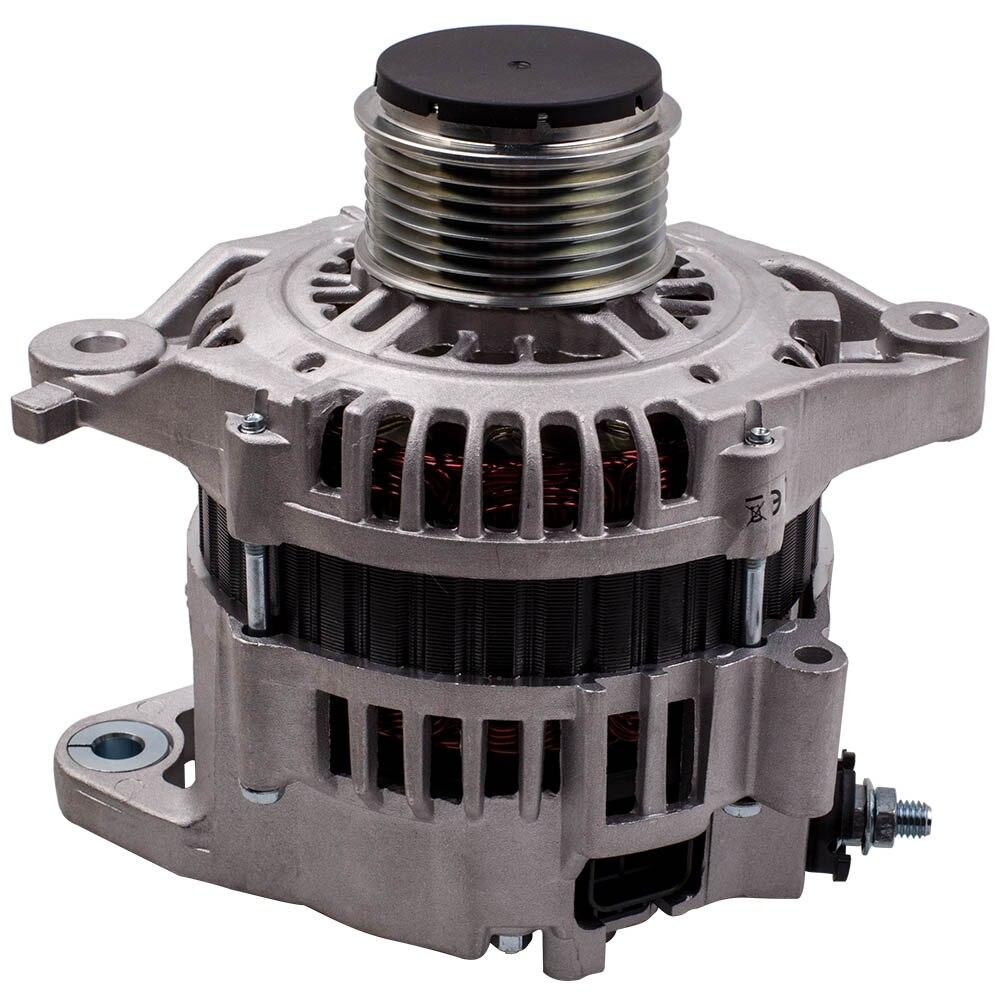 12V 100 แอมป์เครื่องกำเนิดไฟฟ้ากระแสสลับสำหรับ Nissan Y61 3.0L ดีเซล ZD30DDTi 23100VC100 LR190-752 LR160-745 23100-VC100