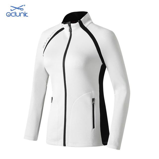 Women's Fall / Winter Golf Clothing Oclunk Windbreaker