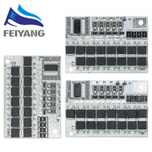 Bms 3s/4s/5s 12v 18v 21v 3.7v 100a, carte de Circuit de Protection de la batterie au Lithium ternaire, li-polymère, charge d'équilibre, 10 pièces