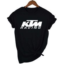 KTM Ready To Race T-Shirt Biker Motorcycle Rider Mens Inspired Racing Bike Cycle T Shirt(China)