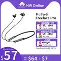 HUAWEI FreeLace Pro Bluetooth 5,0 беспроводная гарнитура 3 Mic дизайн активное шумоподавление Быстрая зарядка