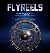 Leo Fly Reels FGK95 Full Metal CNC Flywheel Aluminum Alloy 3BB Front Fly Fishing Wheel Fishing Gear 27705 Accessories Pesca