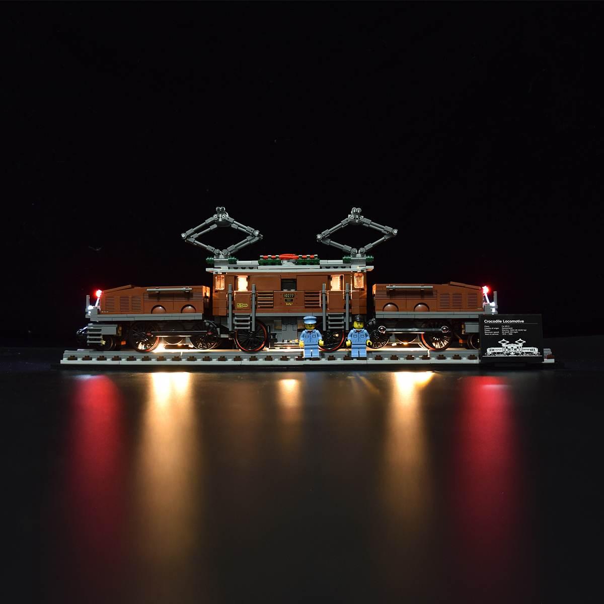 Light Kit For Crocodile Locomotive 10277