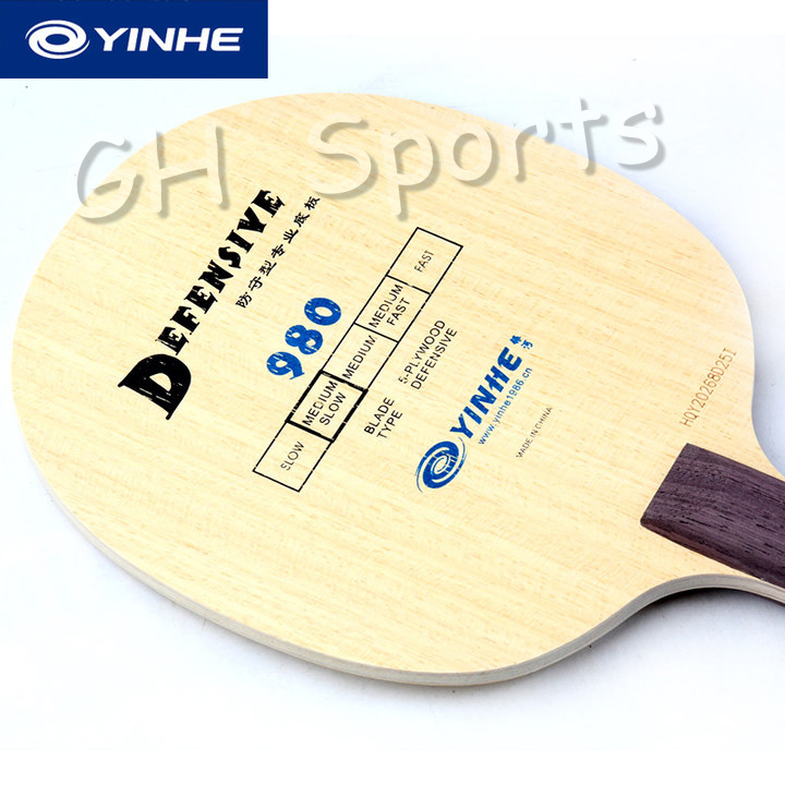 YINHE Galaxy 980 (Defensive, Chop Play) Table Tennis Blade Chop Racket Ping Pong Bat Paddle