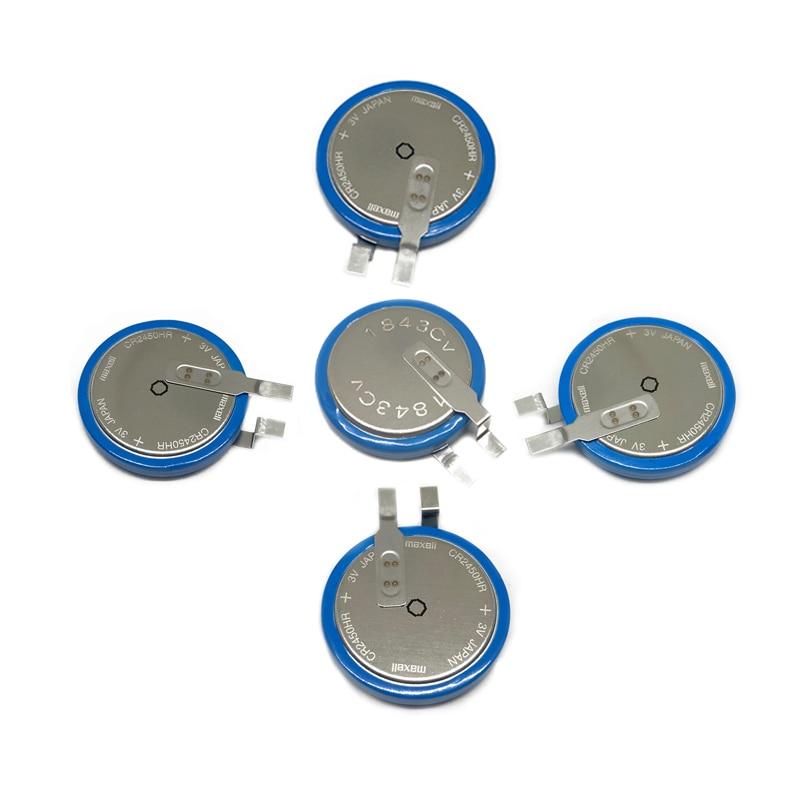 4pcs new for CR2450HR 3V AFPX-BATT FP-X tire pressure monitoring battery