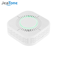 Jeatone Smoke Detector Fire Alarm Detector Independent Smoke Alarm Sensor For Home Office Security Photoelectric Smoke Alarm