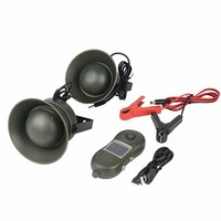 PDDHKK Outdoor Hunting Decoy Bird Caller with Timer ON/OFF 2*50W 150dB Louder Speaker Dustproof Waterproof Animal Bird Sounds