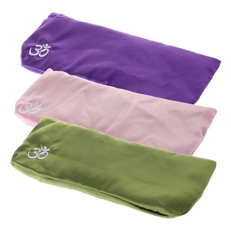 Yoga Eye Pillow Silk Cassia Seed Lavender Massage Relaxation Mask Aromatherapy