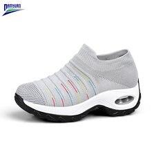 2020 новая весенняя модная обувь женские дышащие мягкие кроссовки