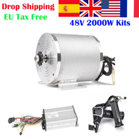 E Bike Motor 48V 2000W Motor Wheel electric bicycle conversion kit Ebike Controller For Electric Bicycles Skateboard Part kit