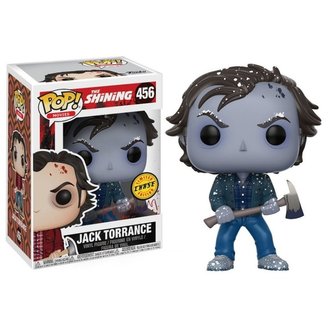 FUNKO POP The Shining Jack Torrance #456 Saw Billy # 52 Action Figure Toys Vinyl Figure Model Dolls for Kids Halloween Gifts 3
