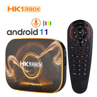 HK1 caja R1 TV BOX Android 11 4GB de Ram 32GB 64GB Rom 4K H.265 USB3.0 RK3318 Set Top Box