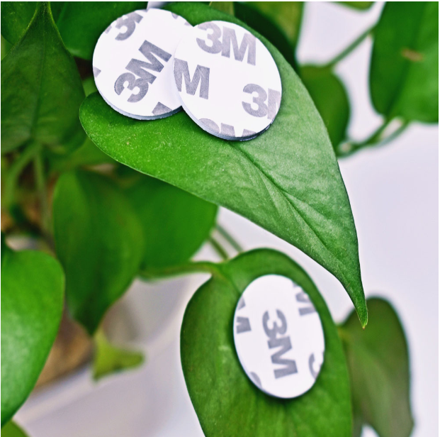 13.56MHZ NFC Tags MF 1K S50 F08 ISO14443A Smart NFC Coin Card Dia 25mm With 3M Adhesive Glue Sticker