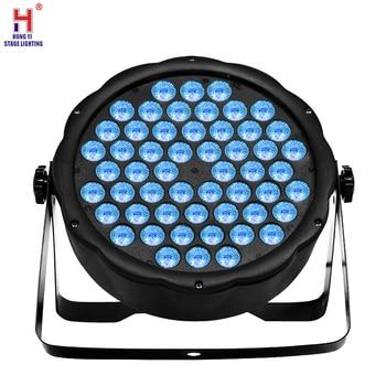 LED Par Light 54x3W RGB Beam Effect Wash Disco Light DMX Professional LED Stage Par Lights For Party Show DJ Bar par led light прожектор led par 64 involight led par189al