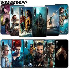 WEBBEDEPP Movie Aquaman Soft TPU Case for Xiaomi Mi 6 8 A2 Lite 9 A1 Mix 2s Max 3 F1 9T A3 Pro CC9E Cover