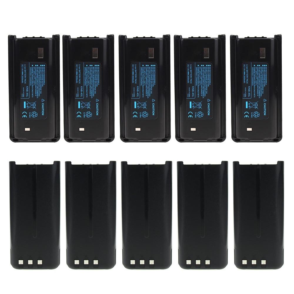10X KNB-45 KNB-45L 2000mAh Li-ion Battery Compatible For Kenwood TK-3312 TK-2200 TK-2207 TK-2312 TK-3200 TK-3207 TK-2202L TK-221