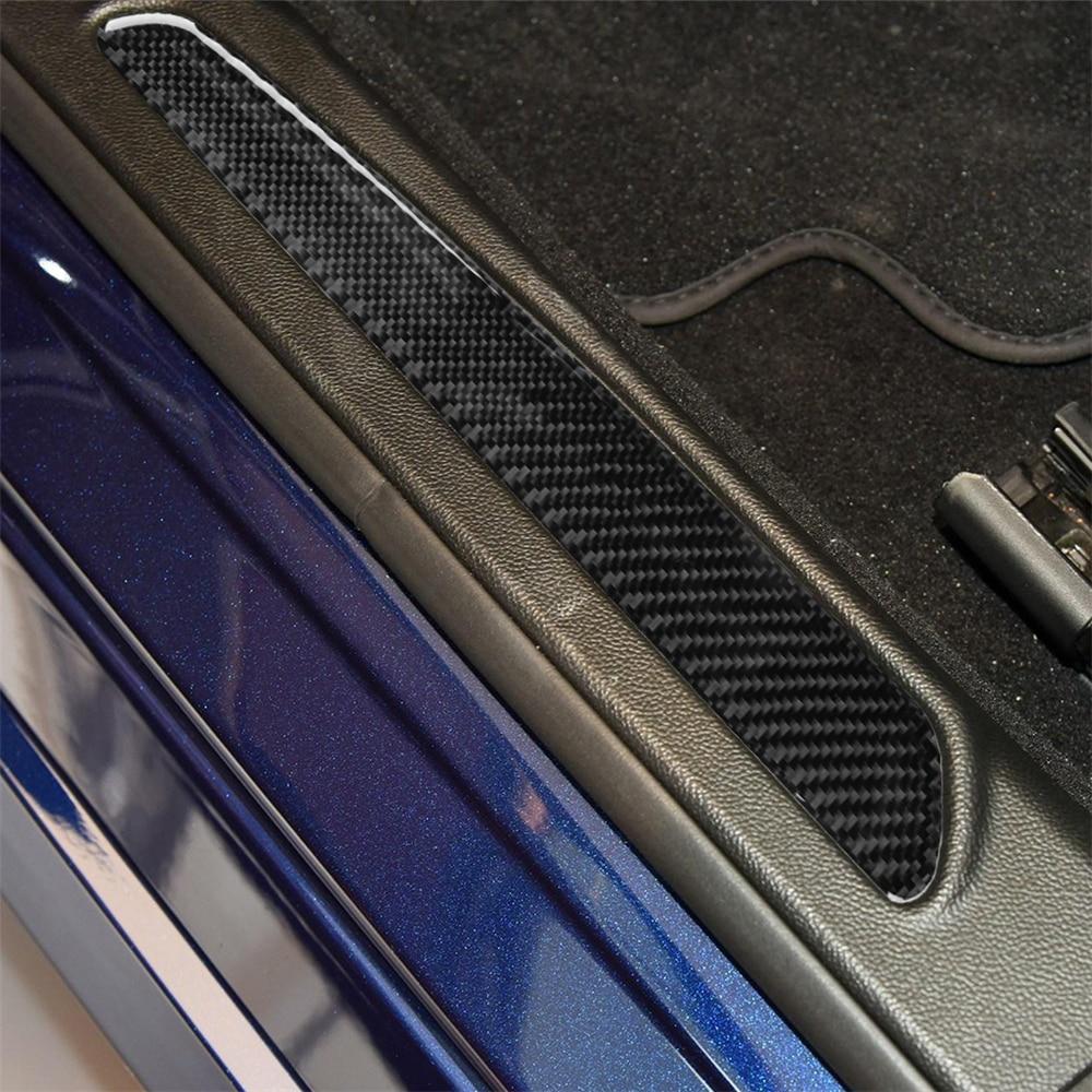 Dashboard Trim, RHD Carbon Fiber Interior Decoration Decal Frame Cover Trim Stickers for Alfa Romeo Giulia 2017-2019