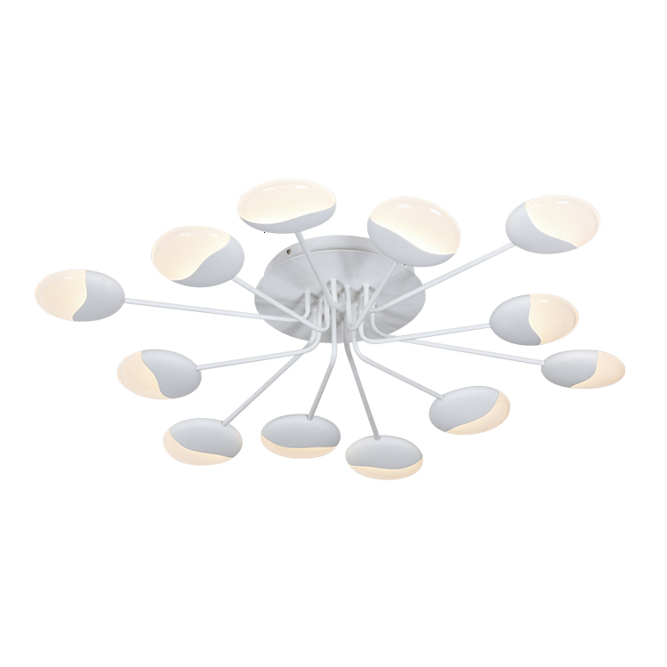6 Commercial Chinese Home Hotel Surface Mount Drop W Led Hall Ceiling Light Hanging Lamp lamparas de techo colgante|Pendant Lights| |  -