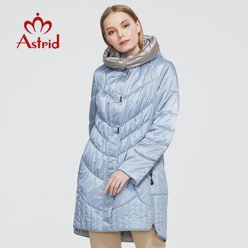 Astrid giacca di inverno delle donne del cappotto Casual femminile Parka Donna Con Cappuccio Cappotti solido ucraina Più Il Formato di stile di modo migliore AM-5810 1
