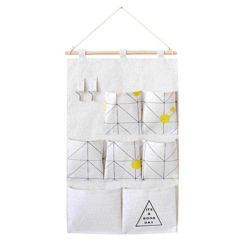 Carttoon настенная подвесная сумка для хранения в скандинавском стиле, органайзер для детской кроватки, декор для детской комнаты, детская игрушка, сумка для хранения подгузников, Домашний Органайзер - Цвет: 6