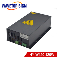 WaveTopSign HY W120 100 120w CO2 Laser Power Supply for CO2 Laser Engraving Cutting Machine