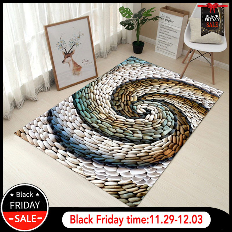 RFWCAK Creative Europe Type 3D Printing Carpet Hallway Doormat Anti-Slip Bathroom Mat Absorb Water Kitchen Carpets Rug Tapete