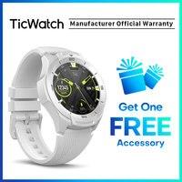 TicWatch S2 Tragen OS Android Tragen Smartwatch Bluetooth GPS Sport Uhr für Männer 5ATM Wasserdicht für IOS & Android Lange batterie Lebensdauer-in Smart Watches aus Verbraucherelektronik bei