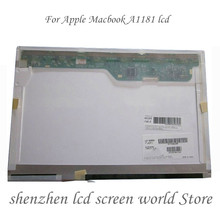 13.3 ''pour Apple Macbook A1181 1280*800 20pin ltn133at07 LP133WX1 TLA1 B133EW01 v.3 2006 2007 2008 2009 CCFL écran LCD Pour Ordinateur Portable