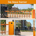 Remote gate arm double-layer yellow Boom car barrier gate barrier / collision-proof intelligent barrier gate