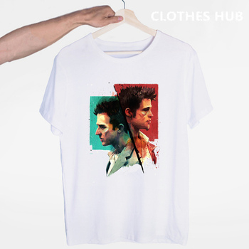 Fight Club Crime Movie Streetwear T-shirt O-Neck Short Sleeves Summer Casual Fashion Unisex Men And Women Tshirt post malone hip hop t shirt o neck short sleeves summer casual fashion unisex men and women tshirt