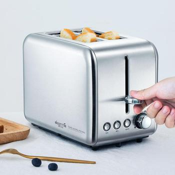 Deerma Bread Baking Machine Electric Toaster Household Automatic Breakfast Toast Sandwich Maker Reheat Kitchen Grill Oven 4