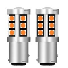 2pcs Mini 1157 P21/5W BAY15D High Bright 3030 LED Auto Brake Bulb Turn Signal Car Daytime Running Light Rear Fog Lamp