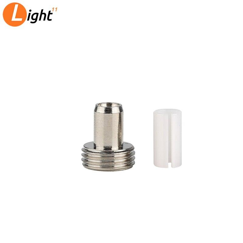 10PCS 7mm Fiber Optic Laser Source Visual Fault Locator Ceramic Insert Ceramic Sleeve Metal Ceramic Pipe Joint