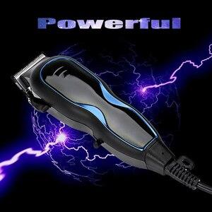 Image 5 - Kemei profesyonel saç düzeltici elektrikli saç kesme saç şekillendirici aracı ayarlanabilir Limit tarak güçlü saç tıraş makinesi D40