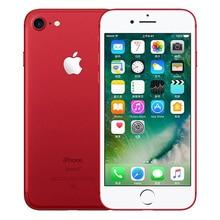 Apple iPhone 7 отпечатков пальцев 2 Гб Оперативная память 32/128/256 ГБ Встроенная память iOS 4 аппарат не привязан к оператору сотовой связи для разблокированного мобильного телефона, 12.0MP gps четырехъядерный мобильный телефон