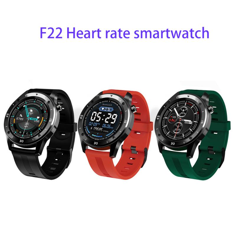 F22 Sport Smart Watches Intelligent Smartwatch Fitness Tracker Heart Rate Bracelet Blood Pressure Android Ios for Man Woman Gift